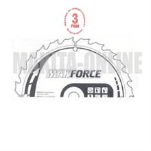 Изображение Пильный диск по дереву Makita MAKFORCE B-08202 185x15,88/16